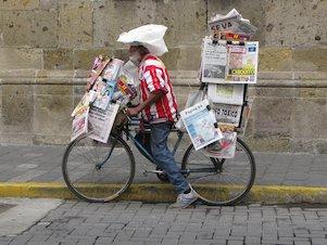 Vendedor de periódicos, vendedor de diarios, canillita (México)