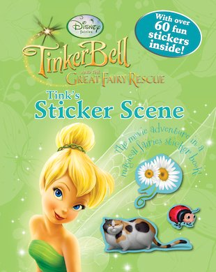 Disney Fairies: Tinker Bell and the Great Fairy Rescue: Tink's Sticker Scene