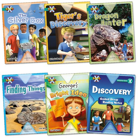 Project X: Discovery Pack (Book Band Turquoise)