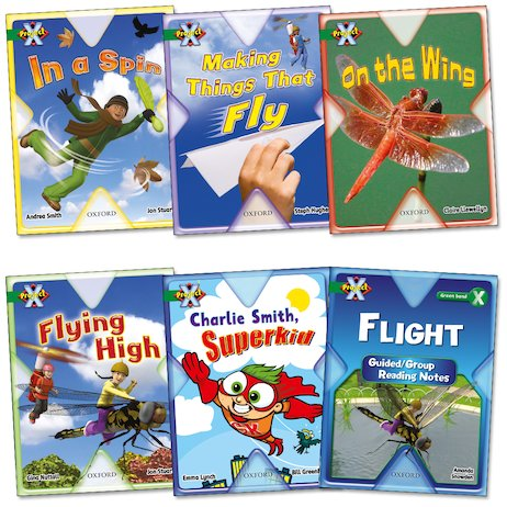 Project X: Flight Pack (Book Band Green)