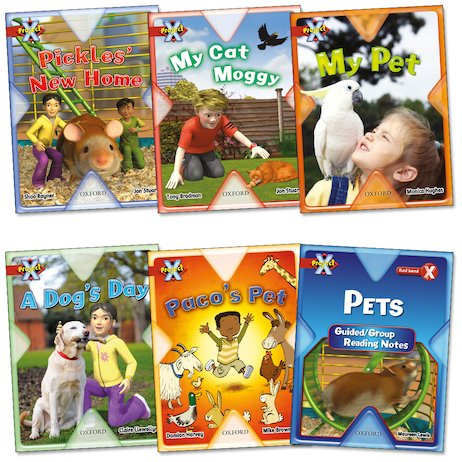 Project X: Pets Pack (Book Band Red)