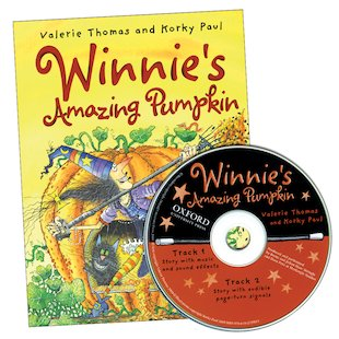 Winnie's Amazing Pumpkin: Book and CD