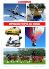 Different ways to travel – photo poster