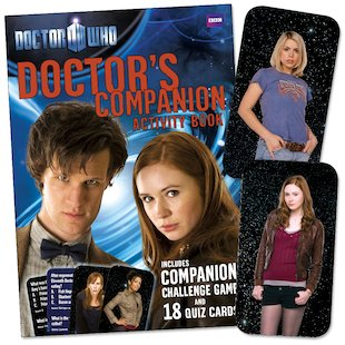 Doctor Who: Doctor's Companion Activity Book