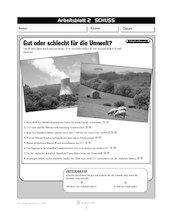 Gut oder schlecht für die Umwelt?