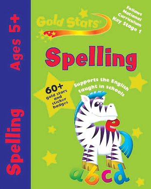 Gold Stars: Spelling (Ages 5+)