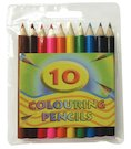 Pack of 10 Colouring Pencils