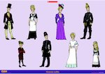 Victorian outfits (1 page)