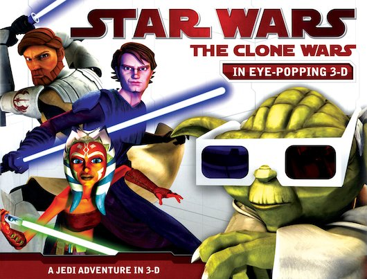 Star Wars: The Clone Wars 3D Storybook