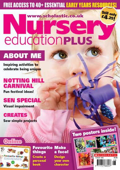 Nursery Education PLUS August 2010