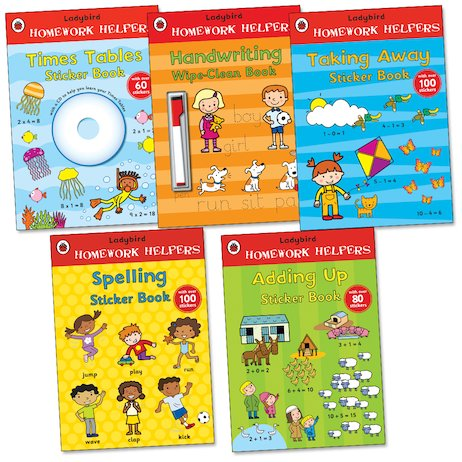 Ladybird Homework Helpers Pack