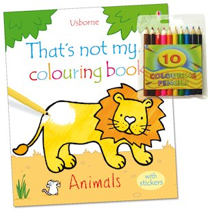 That's Not My Colouring Book: Animals