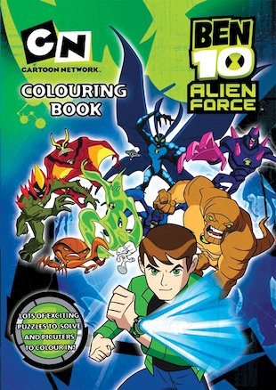 Ben 10 Alien Force: Colouring Book