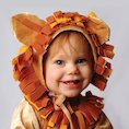Child dressed as a lion