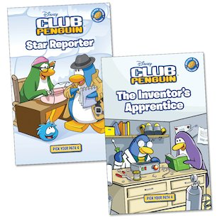 Club Penguin: Pick Your Path Pair