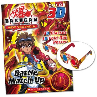 Bakugan: New Vestroia 3D Battle Match Up