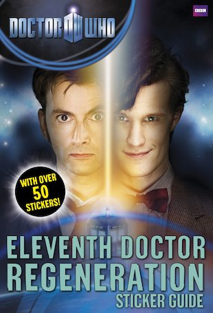 Doctor Who: Eleventh Doctor Regeneration Sticker Guide