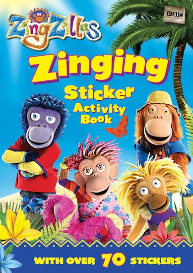 ZingZillas: Zinging Sticker Activity Book