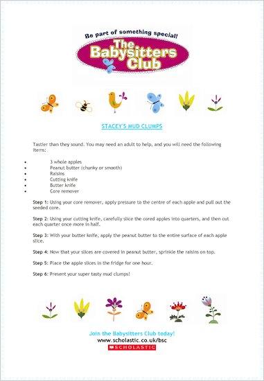 Babysitters' Club Mud Clumps
