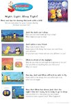 Night, Light Sleep Tight Storytime Notes (1 page)