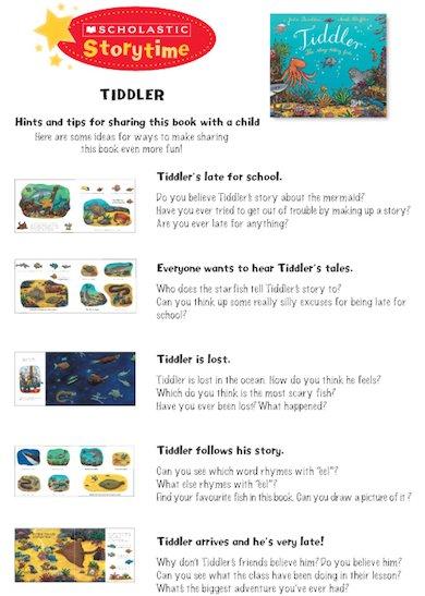 Tiddler Storytime Notes