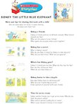 Sidney the Little Blue Elephant Storytime Notes (1 page)