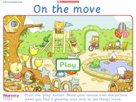 On the move game
