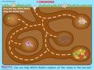 Bunny maze game