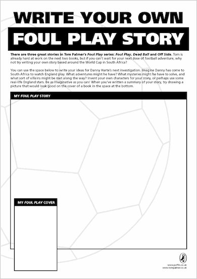 Write your own Foul Play story