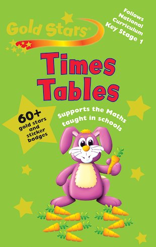Gold Stars: Times Tables (Ages 5+)