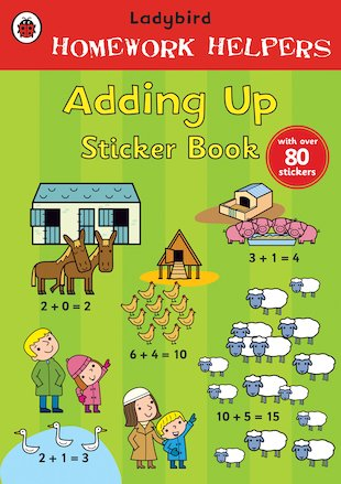 Ladybird Homework Helpers: Adding Up Sticker Book