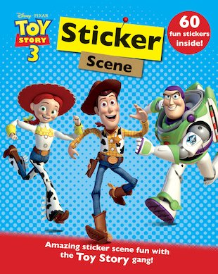 Toy Story 3: Sticker Scene