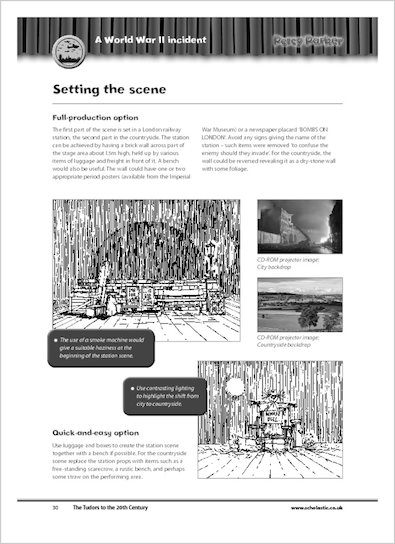 Sample page - Setting the scene - from 'Percy Parker: The Tudors to the 20th Century'
