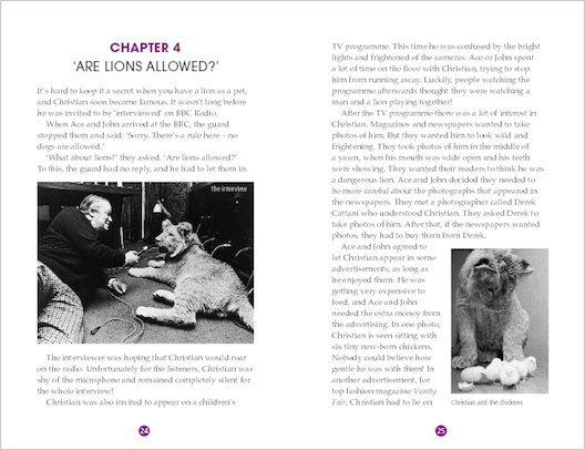 A Lion Called Christian: Sample Chapter