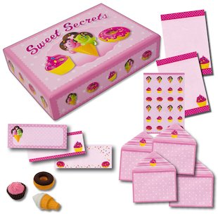 Sweet Secrets Stationery Box