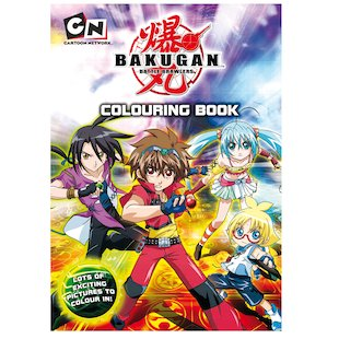 Bakugan Battle Brawlers: Colouring Book