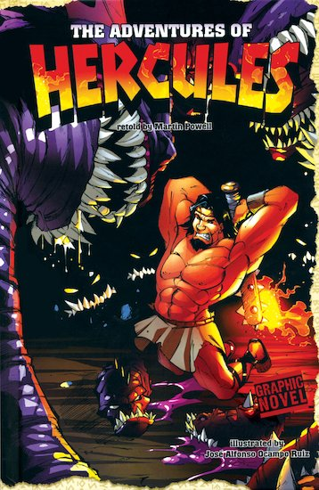 Graphic Myths: The Adventures of Hercules