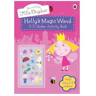Ben and Holly's Little Kingdom: Holly's Magic Wand 3D Sticker Activity Book
