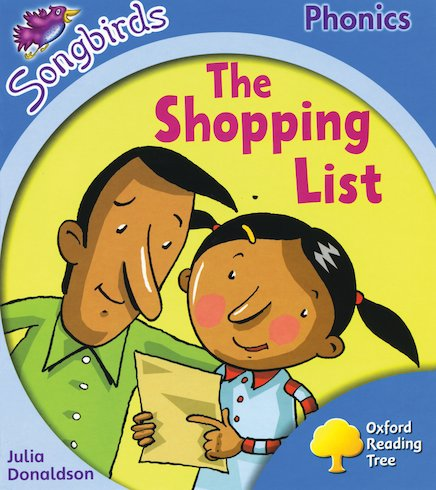 Songbirds Phonics: The Shopping List