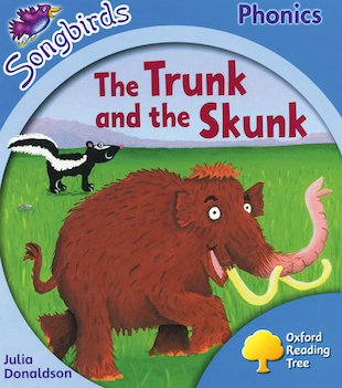 Songbirds Phonics: The Trunk and the Skunk