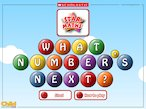 What number's next? - maths interactive whiteboard game