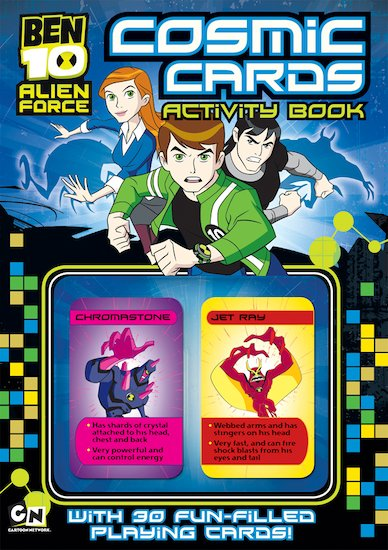 Ben 10: Cosmic Cards Activity Book