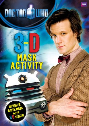 Doctor Who: 3-D Mask Activity Book