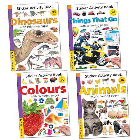 Favourite Topics Sticker Activity Set