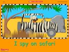 I spy on safari – interactive