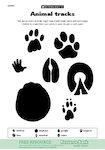 Animal tracks (1 page)
