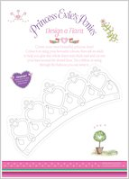 Princess Evie's Ponies Design a Tiara