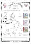 Princess Evie's Ponies Colouring