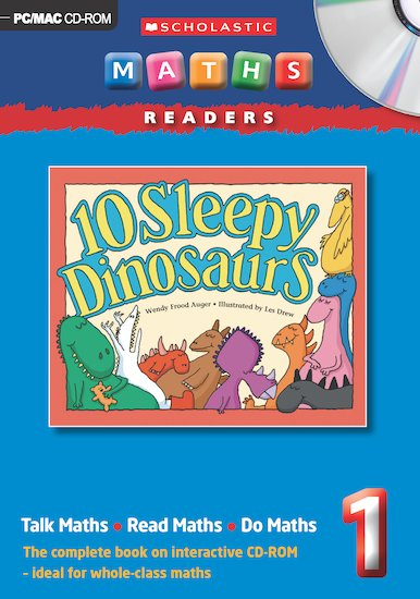 10 Sleepy Dinosaurs CD-ROM