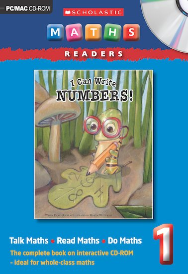 I Can Write Numbers CD-ROM